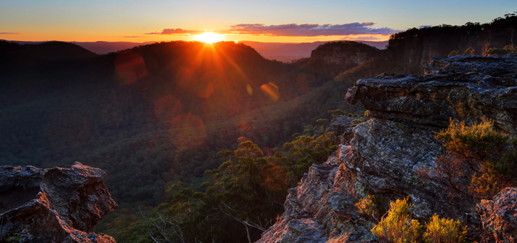 Australia, Blue Mountains National Park