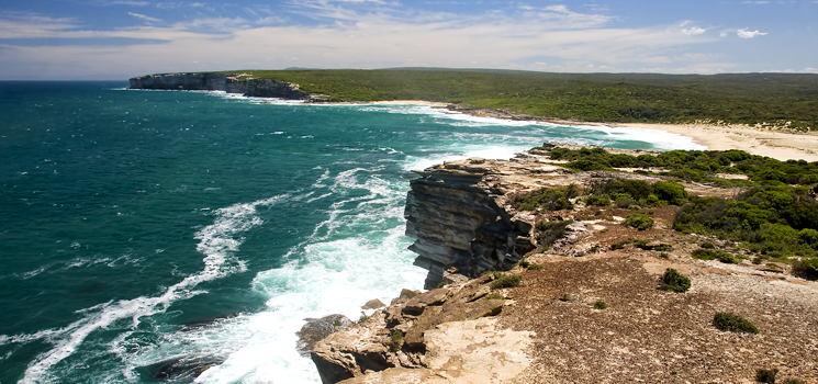 Royal Coast National Park near Sydney